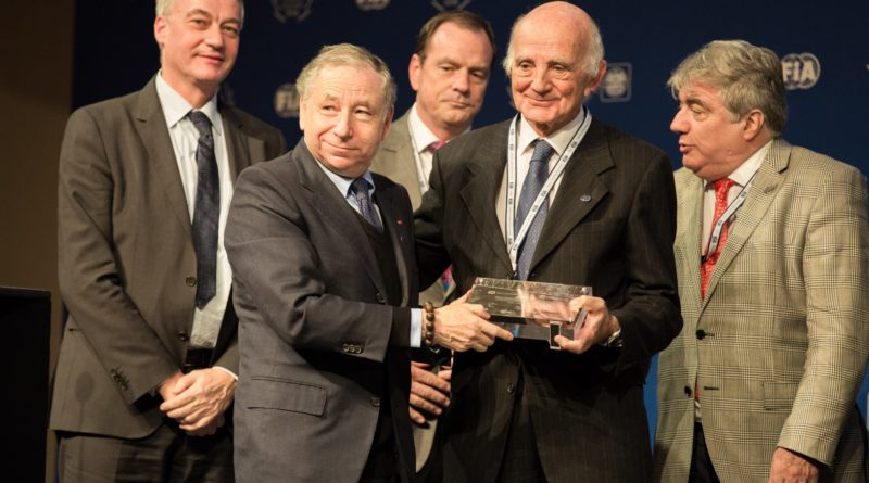 Professor Gérard Saillant, President of the FIA Medical Commission